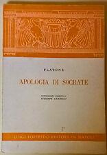 Apologia di Socrate - Platone -a cura di F. Cammelli - 1981, Luigi Loffredo - L