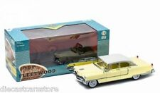 GREENLIGHT 1955 CADILLAC FLEETWOOD SERIES 60 1/18 YELLOW / WHITE ROOF 12937