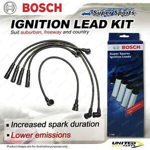 Bosch Ignition Leads for Subaru Alcyone Brumby DL GL Leone Omega Vortex XT