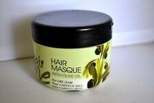 Hair One HAIR MASQUE with Olive Oil for Dry Hair 8 oz. / New
