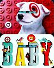 2x TARGET 2015 THE BULLSEYE DOG & HAPPY BIRTHDAY BABY COLLECTIBLE GIFT CARD LOT For Sale