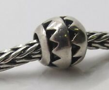 Authentic Trollbeads AZTEC Sterling Silver .925 Bead RETIRED CLASSIC 11102