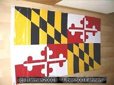Fahnen Flagge Maryland Sonderposten - 90 x 150 cm