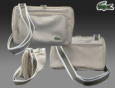 LACOSTE Across the body Shoulder Bag Casual 2.6 Beige