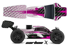 AMR RACING RC GRAPHIC SKINS DECAL KIT MUGEN PROLINE BULLDOG BODY MBX6 CARBON X P