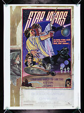 STAR WARS * CineMasterpieces 30X40 STYLE D 1SH RARE ORIGINAL MOVIE POSTER 1977