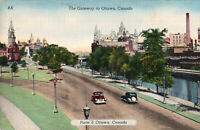 CANADA Vintage Postcard The Gateway to Ottawa, Unposted- *Free Shipping*