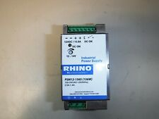 RHINO switching power supply, 12 VDC (adjustable) output, 13A, 156W, 120/240 VAC