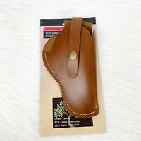 "Saddle Mate 6.5"" Adj. Holster Top Grain Rugged Buffalo Leather Side Holster"