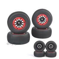 4X BeadLock Wheel&1:10 Short Course TrucK Tires For RC TRAXXAS Slash Car Truck