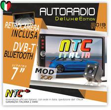 "AUTORADIO 7"" Touch NTC 2DIN Bluetooth AUX USB AUDI A3 A4  FIAT IDEA BRAVO PANDA"