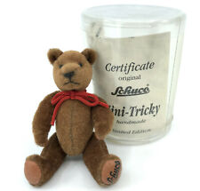 Schuco Mini Tricky Teddy Bear 8cm 3in Revival 1995 Limited Edition Cert Boxed