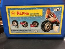 Konig Alpha Snow Tire Chains Vintage chains never used