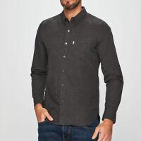 Levi's Men's Long Sleeve Casual Dark Grey Shirt Size XL