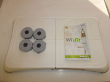 ORIGINAL Wii FIT BALANCE BOARD, WITH RISER FEET EXTENSION 4 PACK