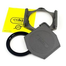 Genuine COKIN 'A' SERIES - FILTER HOLDER + CAP + 49mm ADAPTER RING.