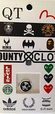 1 x Aluminum Metal Home Button Sticker iPhone 4 4S 5 BMW Benz Transformer Batman
