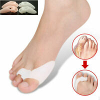 1 Pair Silicone Gel Bunion Toe Corrector Orthotics Straightener Separator Pain