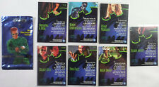 BATMAN FOREVER FLEER ULTRA 1995 OPEN BOOSTER w/ 7 TRADING CARDS TWO FACE ROBIN