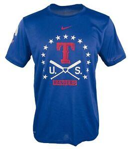 Nike Men's Texas Rangers Baseball Legend Gym Issue T-Shirt-RB-2XL