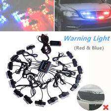 1pc 32 LED Car Truck Strobe Emergency Lights Bars Deck Dash Grille Work Lamp Kit