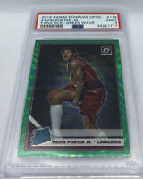 2019-20 Optic KEVIN PORTER JR Prizm Green Wave RC Rookie PSA 9 MINT SP #179