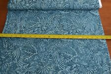 By 1/2 Yd, Blue on Blue Tonga Batik, Timeless Treasures/B7023/SLATE, B820