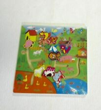 Wooden Animal Jigsaw Early Learning Baby Kids Preschool Educational Toy