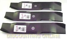 "USA FITS CUB CADET 46"" LT 1045 LT 1046 LT 1022 MOWER BLADES 742-04015 742-04016"