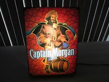 Captain Morgan Rum SIGN box lighted 2008 VERY COOL