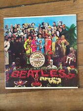 VINYLE 33 TOURS THE BEATLES ST PEPPERS LONELY HEARTS CLUB