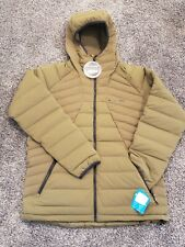 Columbia Table Rock Men's L Jacket Green Retails $250 NEW W/tags 800 fill down