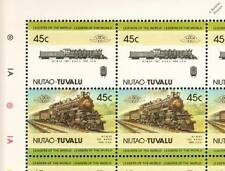 Tuvaluan Train & Rail Postal Stamps