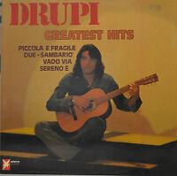 "DRUPI - GREATEST HITS - LP 12"" (S 612)"