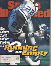 Vintage Emmitt Smith Cover SI 1997 + Beckett Football Price Guide Dec, 1991