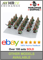 21 Minifigures Lord Rohan Army Viking Sword Rings Shield Toys Block Custom U