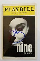 Antonio Banderas Signed Autographed Nine Broadway Musical Playbill