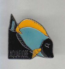 RARE PINS PIN'S .. SPORT PECHE FISHING POISSON FISH AQUARIUM AQUAFLORE ~AR