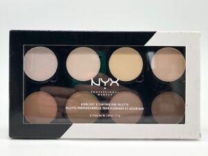 NYX Professional Makeup Highlight & Contour Pro Palette - NEW - Damage Box #5740