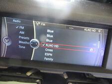 "BMW 65509216579 F01 F02 MONITOR NAVIGATION SCREEN INFORMATION DISPLAY OEM 10,25"""