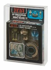 GW Acrylic Display Case Boxed Vintage ROTJ Kenner Sy Snootles & Rebo Band