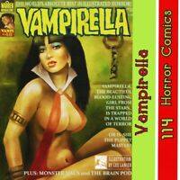 Vampirella Comic Book Lot| 114 Horror - Fantasy - adventure classics