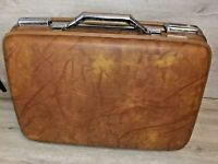 American Tourister Brown Marble, Briefcase Case Hard Shell Vintage