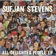 "Sufjan Stevens ""all delighted People pe"" CD NUOVO"