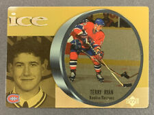 1998-99 McDonalds Upper Deck Ice - #28 Terry Ryan - Montreal Canadiens