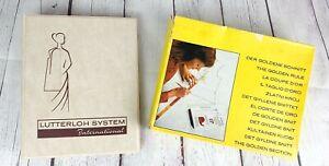 Vtg 1981 Lutterloh System International THE GOLDEN RULE Pattern Making System