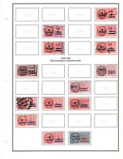France Revenues  Medallions 1948-1987 on Excellent Pages