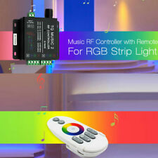 Backlight RF Remote Touch Music Controller fr 3528 5050 5630 RGB LED Strip Light