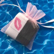Diamante Lips Beach Towel Clip, Peg, Strap sunbed Towel Tidy Strap Set of 2