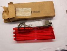 NOS Mopar 1966 Chrysler 300  LH inner TAIL LAMP LENSE PKG   part number 2586505